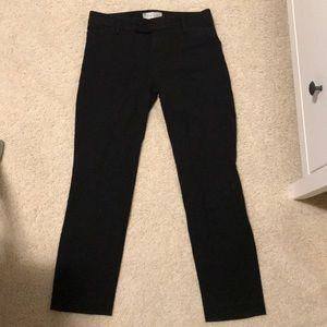 Gap Two Way Stretch Black Pants